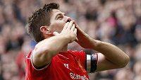 Steven Gerrard zažije dojemné loučení s Liverpoolem...
