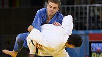 Judista David Pulkrábek vypadl na mistrovství Evropy ve Varšavě v prvním kole váhové kategorie do 60 kilogramů. Ilustrační foto.