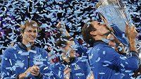 Tým Evropy i potřetí ovládl Laver Cup