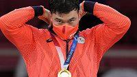 Lukáše Krpálka na olympijském trůnu ve váze do 100 kg vystřídal japonský judista Aaron Wolf