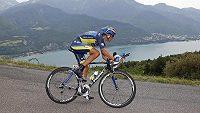 Český cyklista Roman Kreuziger na Tour de France.