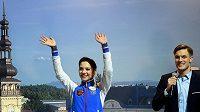 Hvězdy evropského šampionátu v Ostravě: Ruska Jevgenija Medveděvová vytvořila světový rekord, Tomáš Verner sehrál výraznou roli v propagaci akce.