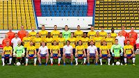 Fotbalisté Teplic se před startem nové sezóny vyfotografovali.