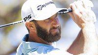 Světová golfová jednička Dustin Johnson