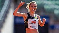 Therese Johaugové útok na olympijský limit v závodě na 10 000 metrů nevyšel