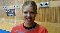Na kvalifikační duely o postup na mistrovství světa proti Turecku se těší česká reprezentantka Michaela Hrbková.