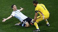 Argentinský záložník Maximiliano Rodríguez a brankář Sergio Romero si chtějí podobné oslavy zopakovat i po nedělním finále s Německem.