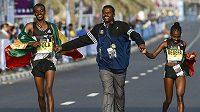 Kenenisa Bekele sice odstoupil, Etiopie přesto měla velké důvody k oslavám.