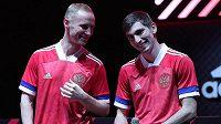 Nové ruské fotbalové dresy se nepovedly. Pořadí barev připomíná vlajku Srbska