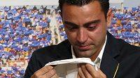 Bývalý záložník Barcelony a španělské reprezentace Xavi se stal trenérem katarského týmu Al Sadd.
