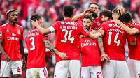 Fotbalisté Benficy Lisabon získali 37. portugalský titul