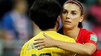 Ne u všech fanoušků se úterní rekordní vítězství amerických fotbalistek 13:0 nad Thajskem na mistrovství světa ve Francii setkalo s nadšením