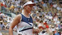 Barbora Krejčíková ve finále French Open
