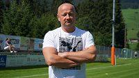 Generální ředitel fotbalistů Plzně Adolf Šádek během herního soustředění v Rakousku.