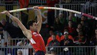 Tyčkaři Janu Kudličkovi těsně unikla medaile na halovém mistrovství světa v Portlandu.