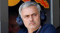 José Mourinho na formuli v Monaku. Jak se vám líbí...?