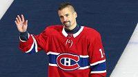 Hokejový útočník Tomáš Plekanec se s Montrealem loučí.