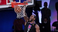 Kawhi Leonard (2) z Los Angeles Clippers, ilustrační foto.
