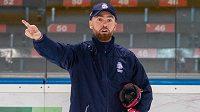 Hlavní trenér české hokejové reprezentace Filip Pešán.
