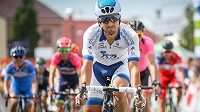 David Lozano na trati Czech Cycling Tour 2016.