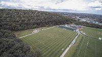 Sportovní areál v Mansfield Woodhouse je sídlem klubu Sherwood Colliery.