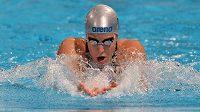 Petra Chocová, specialistka na styl prsa, v barcelonském bazénu.