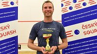 Dánský squashista Kristian Frost ovládl turnaj Prague Open.