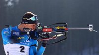 Francouzský biatlonista Emilien Jacquelin nebude na štafetový závod v Novém Městě na Moravě vzpomínat rád (ilustrační foto).