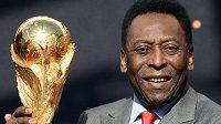 Pelé vyhrál s Brazílií 3x mistrovství světa.