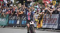 Kate Courtneyová slaví zasloužený triumf