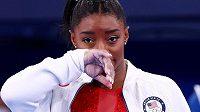 Americká sportovní gymnastka Simone Bilesová