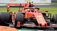 Kvalifikaci na Velkou cenu Itálie F1 vyhrál Charles Leclerc z Ferrar