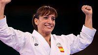 Premiérovou zlatou olympijskou medailistkou v karate se stala Španělka Sandra Sánchezová