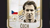 Petr Čech byl zařazen mezi ikony ve hře FIFA 21...