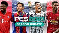 Vychází aktualizace fotbalové hry Pro Evolution Soccer. Zdroj: www.konami.com