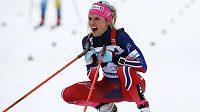 Therese Johaugová z Norska, vítězka letošní série Tour de Ski.
