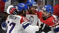 Čeští hokejisté narazí ve čtvrtfinále MS na výběr Německa.