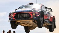 Španělský jezdec Dani Sordo vyhrál Italskou rallye
