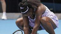 Serena Williamsová na svou soupeřku nestačila.