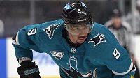 Hokejista San Jose Sharks Evander Kane