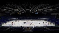 Hokejová aréna. Ilustrační foto.