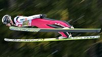 Roman Koudelka předvedl v kvalifikaci skok dlouhý 111,5 metru.