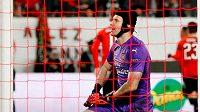 Petr Čech porážce svého týmu nezabránil