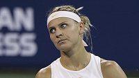 Česká tenistka Lucie Šafářová ve druhém kole US Open.