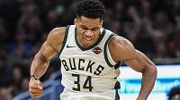 Řecký basketbalista Janis Adetokunbo z Milwaukee byl vyhlášen nejužitečnějším hráčem NBA.