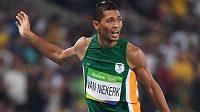 Olympijský vítěz a světový rekordman v běhu na 400 metrů Wayde van Niekerk (archivní foto)