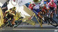 Tragická nehoda v závěru první etapy závodu Kolem Polska