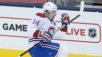 Tomáš Plekanec, klíčový muž Montrealu v utkání NHL proti Torontu.