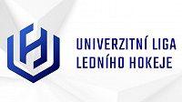 Logo Univerzitní ligy ledního hokeje.
