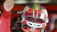 Charles Leclerc ovládl kvalifikaci na Velkou cenu Itálie